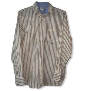 JCREW button down stripe shirt size sm…